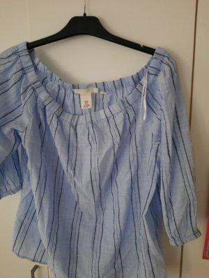 H&M Koszulka na jedno ramię jasnoniebieski