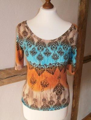 Schönes Designer Shirt * tollen Farben * schöne Muster * Größe S