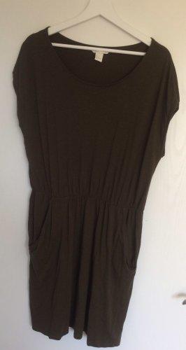 Schönes dunkelgrünes Kleid H&M Größe L