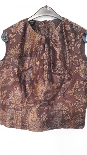 Unbekannte Marke Silk Top multicolored silk