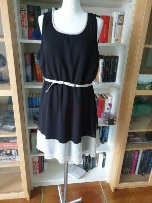 Vero Moda Mini Dress black-natural white