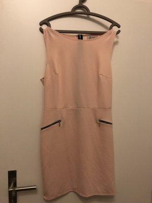 Falda estilo lápiz rosa claro-rosa