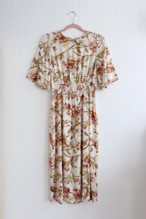 Schönes florales edles Blumen Kleid von H&M Größe 38 M