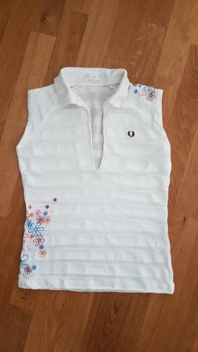 Fred Perry Polo Top white