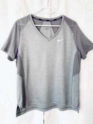 Nike Sports Shirt light grey-grey