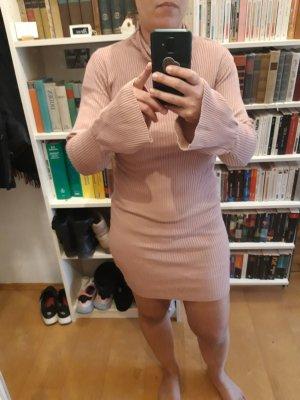 Primark Vestido de lana color rosa dorado