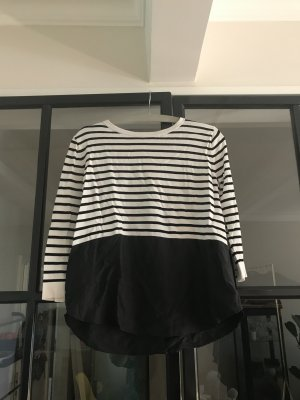 COS Blouse Top white-black