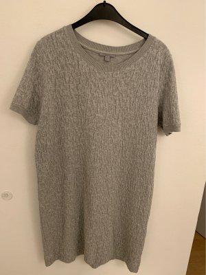 COS Robe à manches courtes gris
