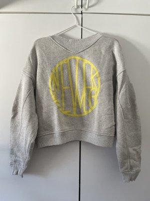 Schönes H&M Sweatshirt mit Print in Gr. M