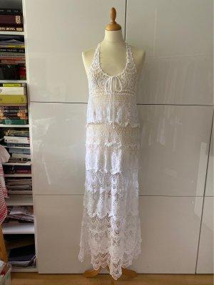 Sukienka maxi biały