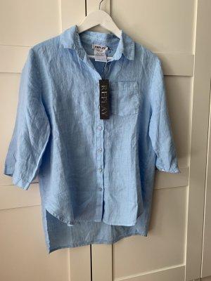 Replay Camicia a maniche lunghe azzurro