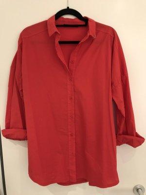 Schönes Hemd, Bluse, rot, NEU, von Le Streghe, Gr Onesize