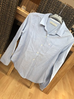 Abercrombie & Fitch Long Sleeve Shirt azure