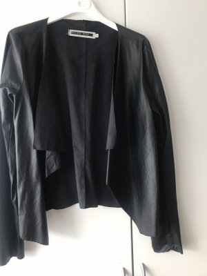 Noisy May Giacca in pelle nero