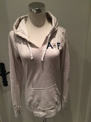 Abercrombie & Fitch Hooded Shirt cream