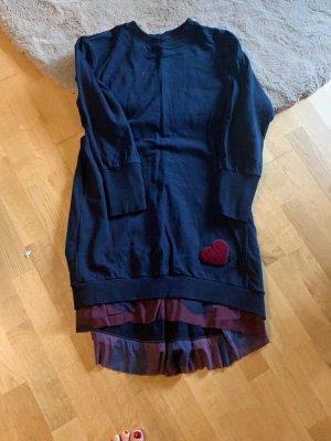 0039 Italy Abito felpa blu scuro