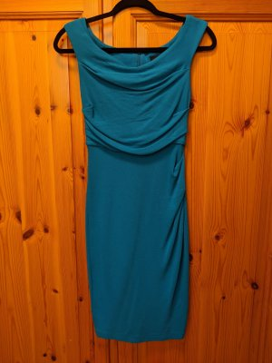 Asos Petite Cocktail Dress neon blue-baby blue