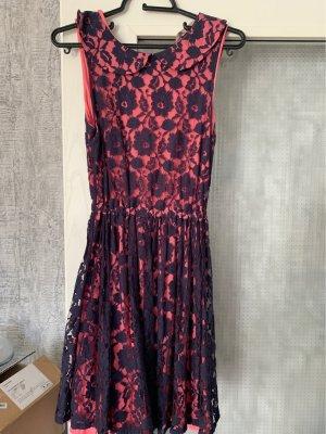 a wear Sukienka koktajlowa różowy-ciemnoniebieski