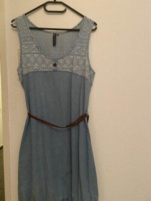 Alife & Kickin Jeansjurk korenblauw