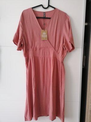 Pieces Vestido línea A rosa claro-rosa