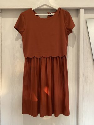 About You Shortsleeve Dress brick red