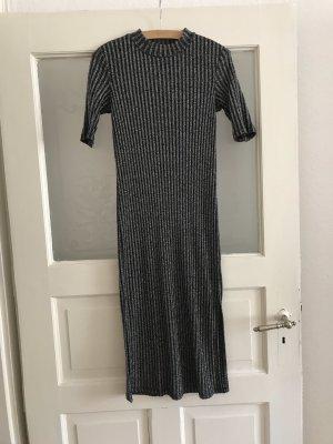 C&A Tube Dress silver-colored-black
