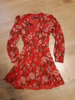 Zara Mini Dress red-magenta