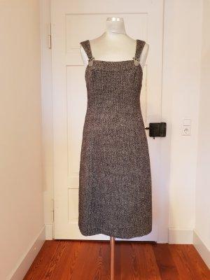 Admont Vestido línea A marrón grisáceo