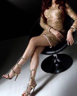 0039 Italy Sukienka koktajlowa złoto