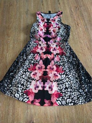 H&M Vestido tipo túnica multicolor