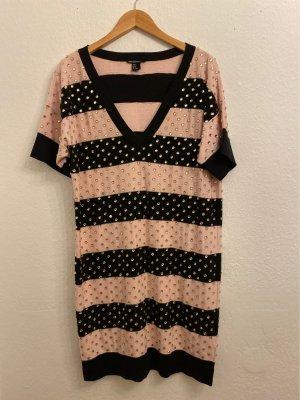 Sonia Rykiel for H&M Sweater Dress black-light pink cotton