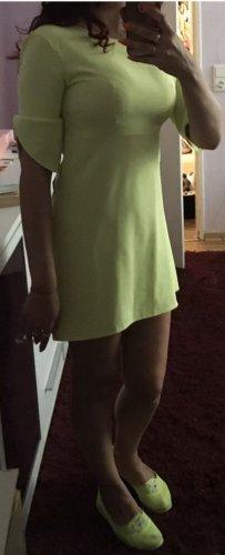 1.2.3 Paris Mini-jurk neongeel