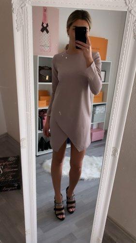 Schönes Kleid Partykleid Cut Out Etuikleid / Flieder Lila Altrose Rose / 36 38 S M / ZARA Asos