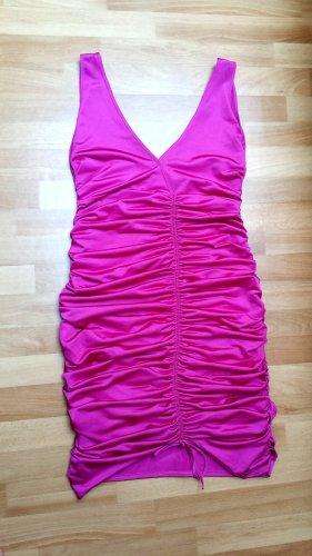 schönes Kleid Schlauchkleid Midikleid in pink-lila Gr. 36