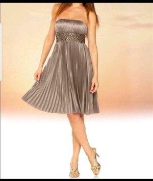 Apart Vestido de noche color bronce-marrón