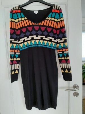 Alba Moda Vestido tejido multicolor Viscosa