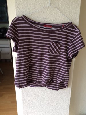 edc by Esprit Batik shirt mauve-grijs-lila