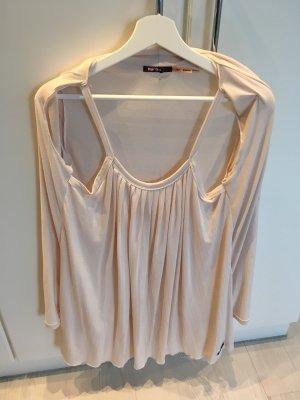 Khujo Sukienka na ramiączkach w kolorze białej wełny-jasnobeżowy