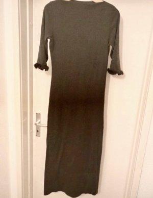 Passport Robe longue gris anthracite-noir