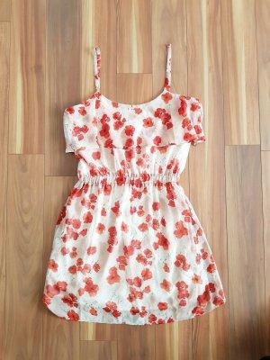 schönes leichtes Kleid Spaghettiträger von Mango casual Gr. M
