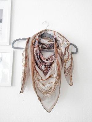 H&M Apaszka jasnobrązowy-brązowy