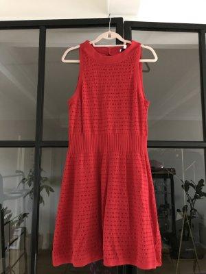 & other stories Vestido tejido rojo
