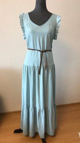Made in Italy Maxi abito turchese