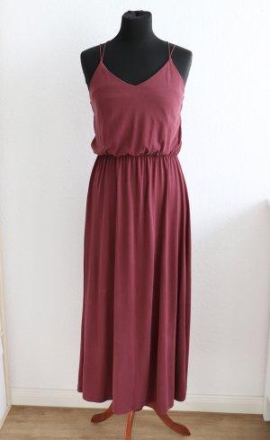 Schönes Midi Maxi Kleid von Kauf dich glücklich Bordeaux Rot Größe S 36 38 Modell Edith
