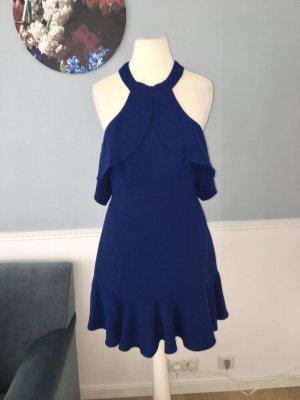 Schönes Minikleid in tiefblauer Farbe