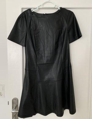 Sfera Vestito in pelle nero