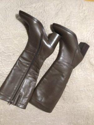 Schönes neue Stiefel Dunkelbraun 38-7 cm absatzhöhe