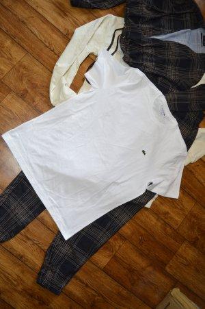 Schönes neues Lacoste T-Shirt weiss Gr. 40