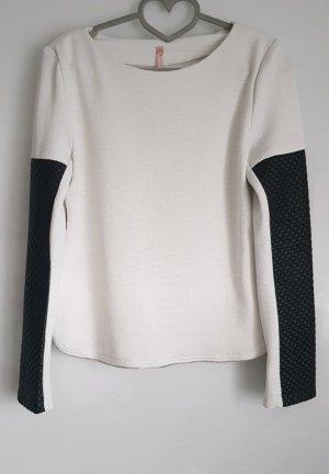 Best emilie Koszulka z długim rękawem biały-czarny