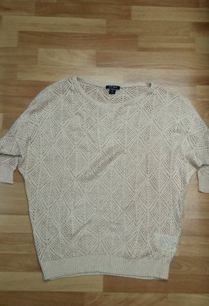 Amisu Crochet Sweater multicolored